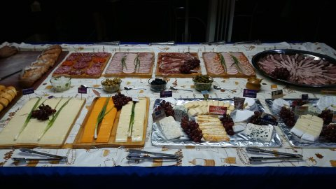 Cheese & Cold cut buffet at Harry's Place